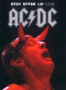 Capa do DVD AC/DC - Stiff Upper Lip