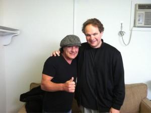 Eddie Trunk e Brian Johnson