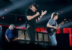 AC/DC. Ensaio para o Grammy.