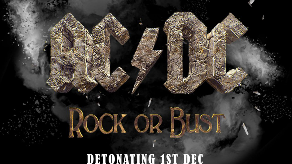 Banner do Especial AC/DC no dia 01 de dezembro de 2014;