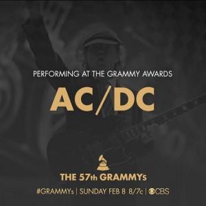 Apresentação do AC/DC no prêmio Grammy