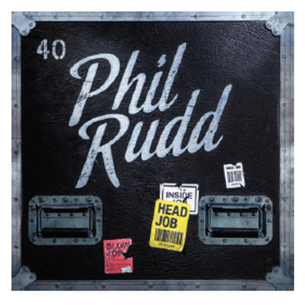 "Capa do álbum ""Hed Job"" de Phil Rudd"