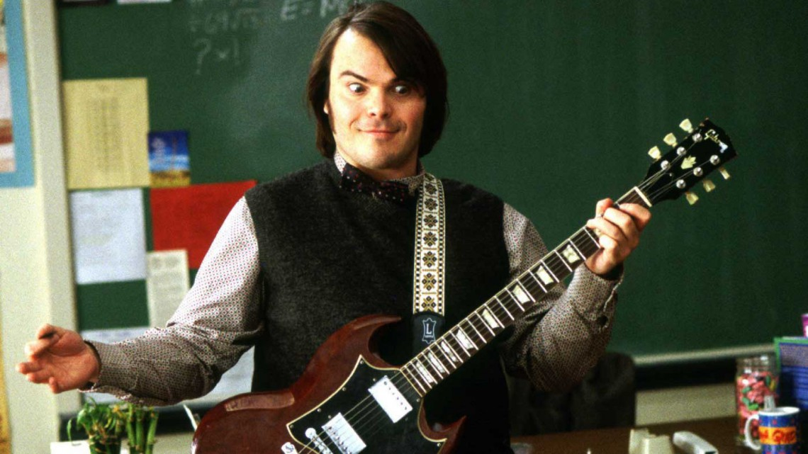 Jack Black - Escola de Rock