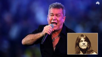 "Jimmy Barnes canta ""High Voltage"" em tributo a Malcolm Young"