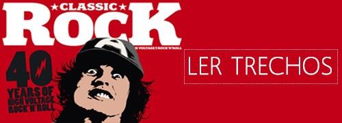 Ler trechos da revista Classic Rock especial AC/DC 40 anos