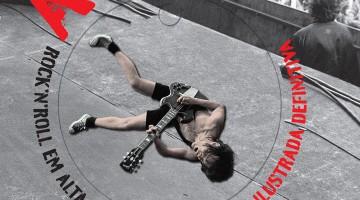 Capa Livro AC/DC Rock N' Roll Em Alta Voltagem
