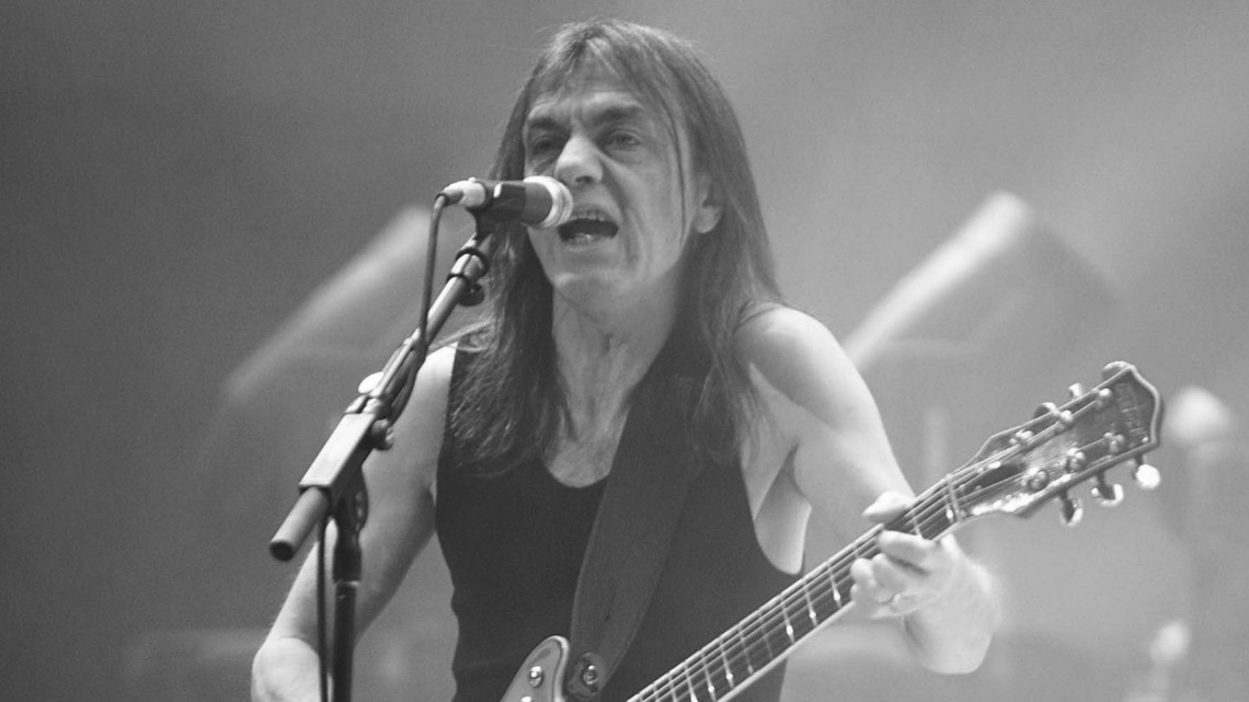 Falece Malcolm Young; fundador do AC/DC 1