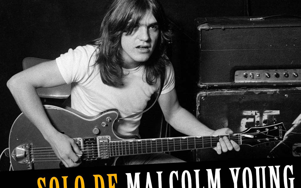 Malcolm Young solo em 1976
