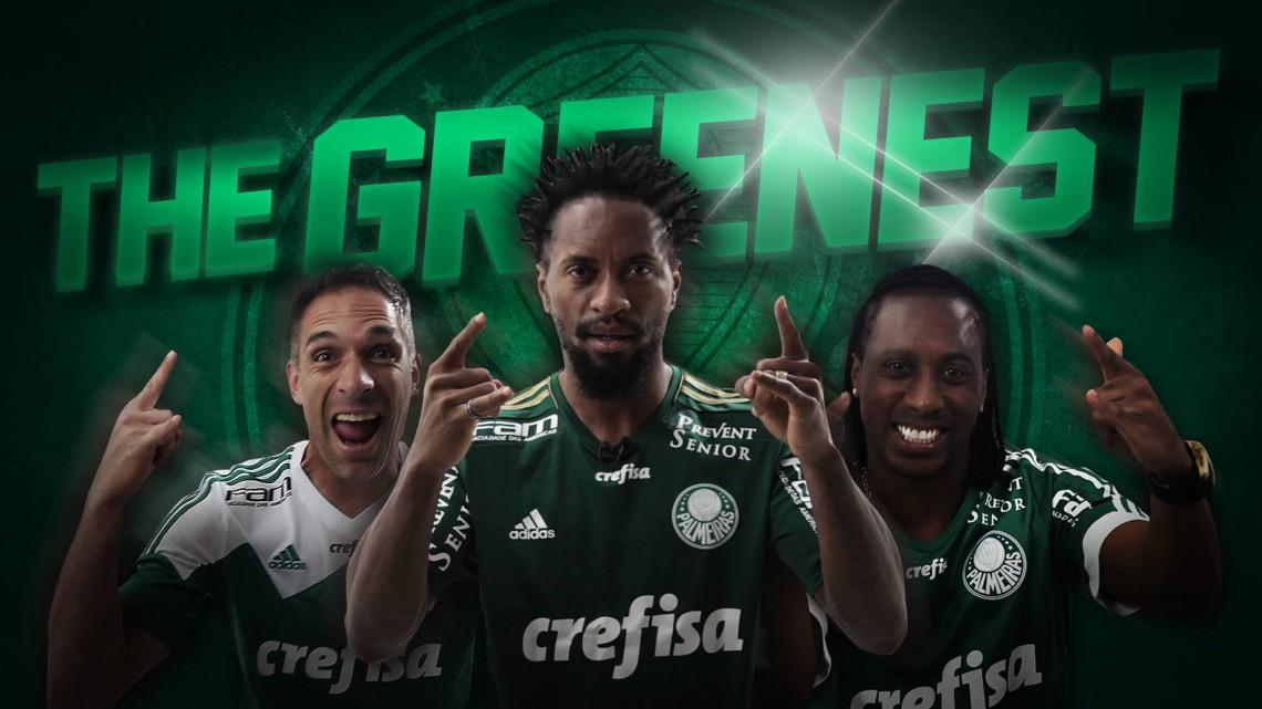Palmeiras usando Play Ball do AC/DC