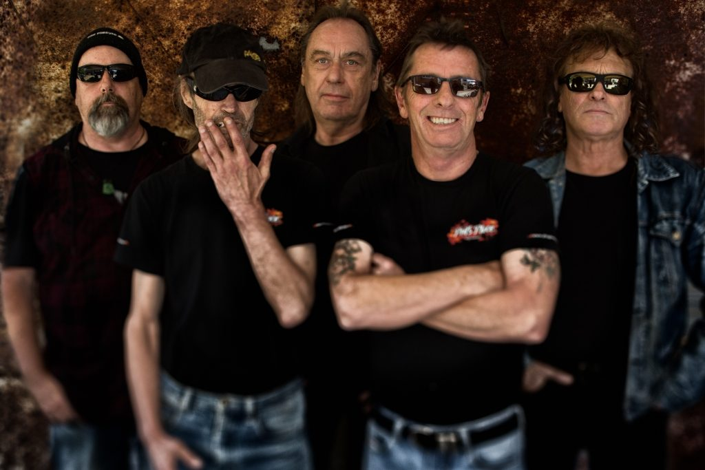 Phil Rudd Band. 2017.