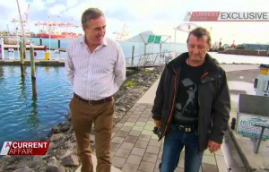Phil Rudd no Programa Current Affair