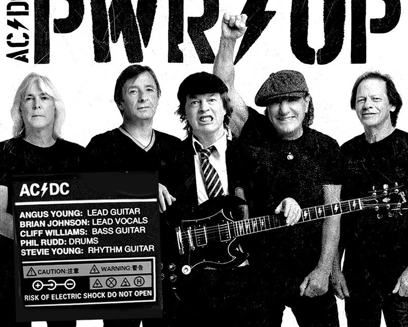 """AC/DC divulga primeira foto promocional para o novo álbum, """"Power Up"""""""