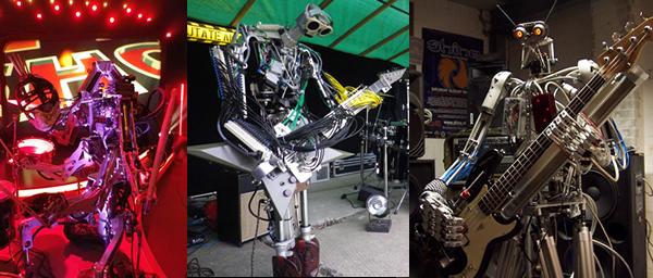 Compressorhead: banda formada por robôs tocando AC/DC