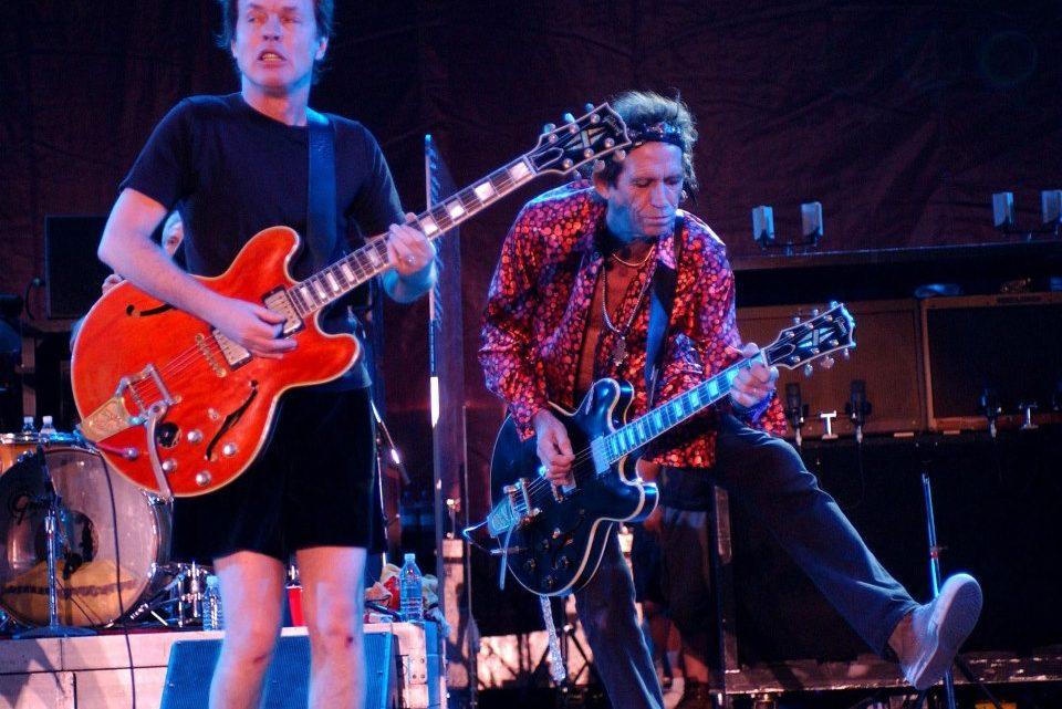 Rolling Stones e AC/DC. 2003.