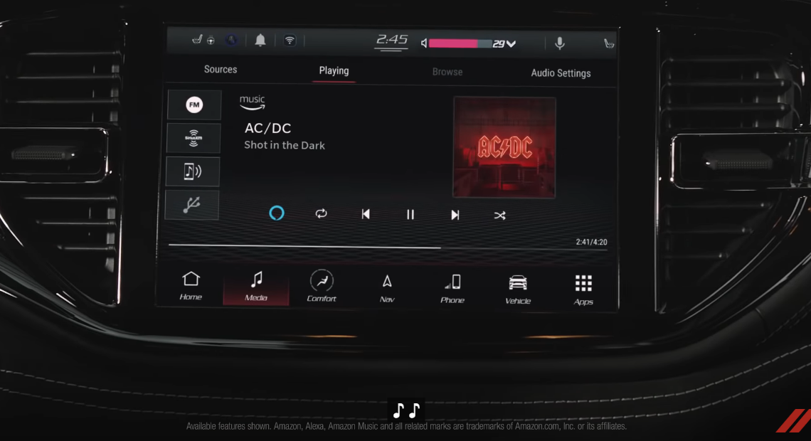 """Shot In The Dark"", novo single do AC/DC, em comercial da Dodge"