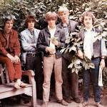 Membros do The Easybeats em 1968.