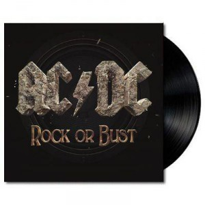"Disco de 7"" - AC/DC. ""Rock or Bust"""